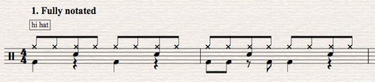 sibelius tutorial drum set notation part 1 john hinchey. Black Bedroom Furniture Sets. Home Design Ideas