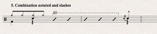 Sibelius Tutorial: Drum set notation-part 5-Combo & Cues