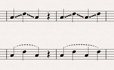 Sibelius: Yeah, there's a plugin for that: Line Between Notes update!