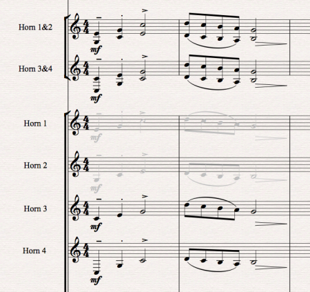 Sibelius Tutorial: Working with Large Scores Part 3:  Extra staves, now you see them now you don't!